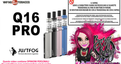 justfog q16 pro Justfog Q16 Pro Recensione Boss Lady Vaper q16pro ins 390x205