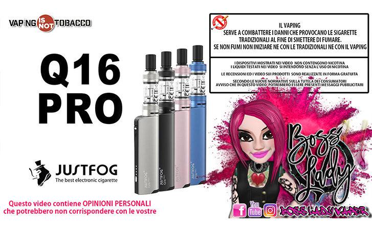 justfog q16 pro Justfog Q16 Pro Recensione Boss Lady Vaper q16pro ins 727x445
