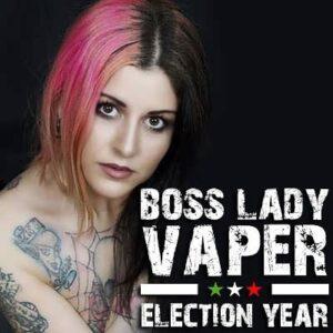 (notitle) boss lady vaper