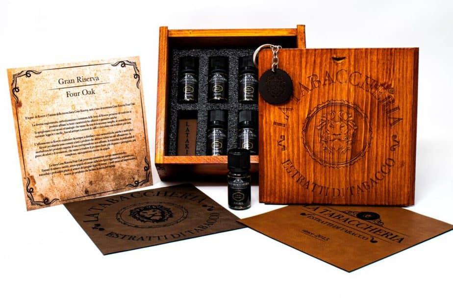 Gran Riserva Four Oak Cofanetto la tabaccheria gran riserva four oak