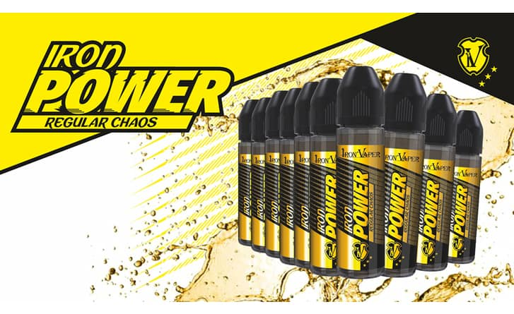 IRON POWER REGULAR CHAOS AROMA 20 ML IRON VAPER iron power regular chaos aroma 20 ml iron vaper