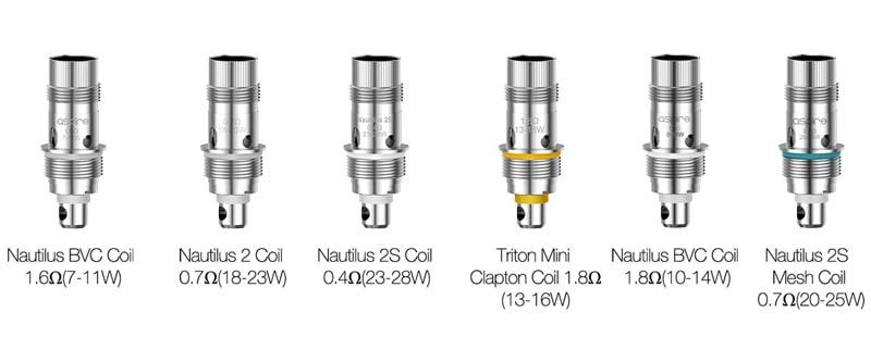 nautilus 3 coil compatibili nautilus 3 aspire