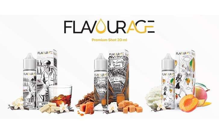 flavourage shot series 20ml flavourage