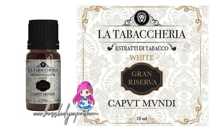 La Tabaccheria CAPVT MVNDI White Aroma 10 ml Gran Riserva la tabaccheria capvt mvndi