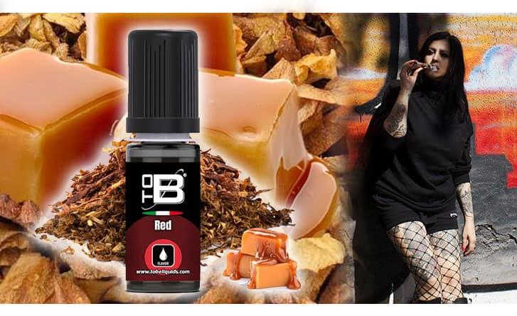 ToB RED Aroma 10 ml ToB E-liquids Recensione tob red aroma