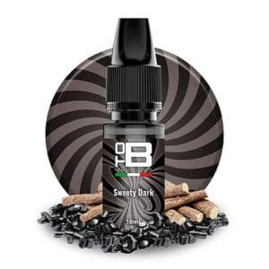 ToB SWEETY DARK Aroma 10 ml ToB E-liquids Recensione tob sweety dark