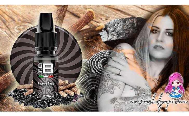 ToB SWEETY DARK Aroma 10 ml ToB E-liquids Recensione Boss tob sweety dark