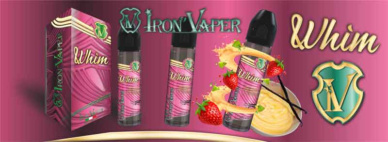 WHIM IRON VAPER AROMA 20ML whim iron vaper aroma 20ml