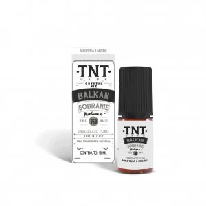 BALKAN SOBRANIE CRYSTAL MIX 10 ML LIQUIDO NICOTINA TNT VAPE tnt vape distillati puri
